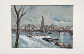 Eef van Brakel - Zutphen in winter