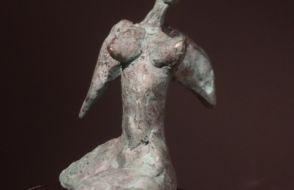 Wilna Haffmans - Vleugelvrouwtje - brons
