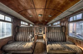 Brian Romeijn - The Orient Express - fotoprint op aluminium