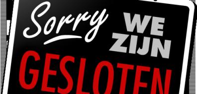 Op Hemelvaartsdag zijn wij gesloten